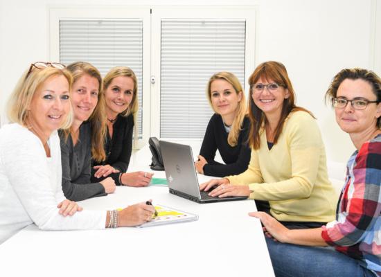Während der Studie bist du bei unserem Team in besten Händen